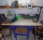 New gardening desk